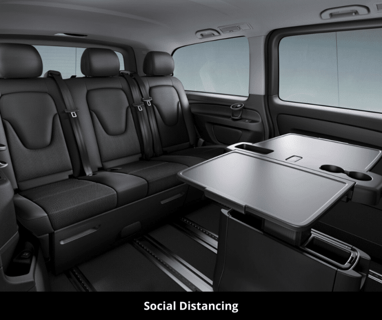 Social Distancing in Vehicles