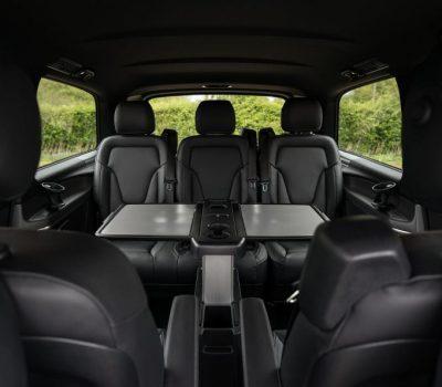 Premier Chauffeur Drive | Mercedes Benz V Class Interior