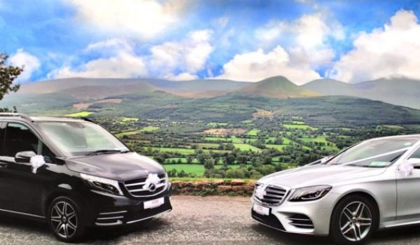 valley with v class and s class Premier Chauffeur Drive _ Wedding Car Hire